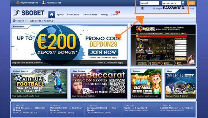 Agen Baccarat Sbobet Online Terpercaya Deposit Rp25.000