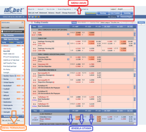 Panduan Penjelasan Semua Menu Di Website MAXBET