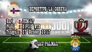 Prediksi Bola D. La Coruna vs Las Palmas 27 Oktober 2017