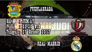 Prediksi Bola Fuenlabrada vs Real Madrid 27 Oktober 2017