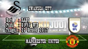 Prediksi Pertandingan Bola Swansea vs Manchester United 25 Oktober 2017