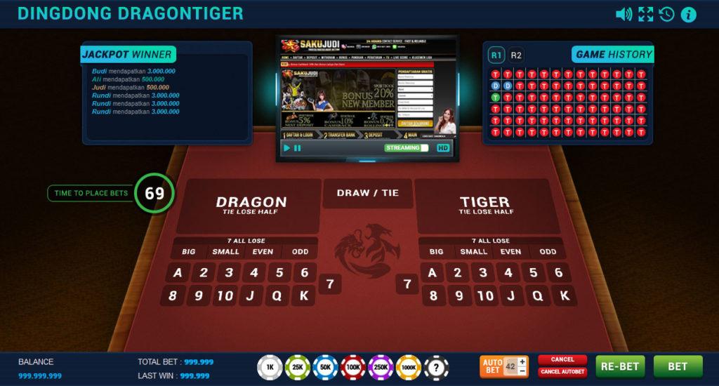 Panduan Cara Bermain DingDong DragonTiger Casino Online