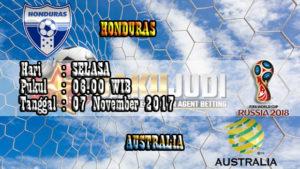 Prediksi Bola Honduras vs Australia 7 November 2017