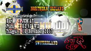 Prediksi Piala Dunia N.Ireland vs Switzerland 10 November 2017